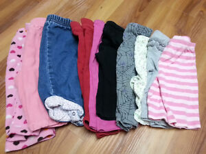 Lot of girl spring clothes - size 6 -12 months