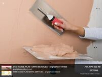 Plasterer available