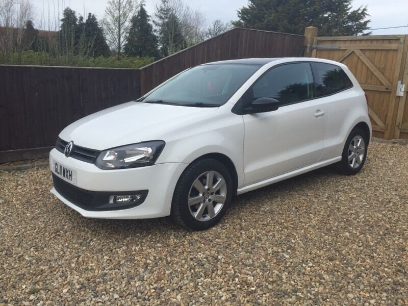 2011 volkswagen polo 1 2 6r white 3dr in aylesbury buckinghamshire gumtree. Black Bedroom Furniture Sets. Home Design Ideas