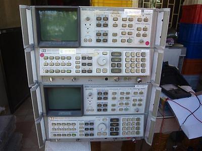 Hp Agilent 8568b Spectrum Analyzer Display W Spectrum Analyzer 100hz-1.5ghz
