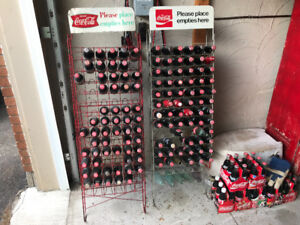 Coca Cola Coke 1960's Bottle Rack