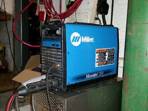Miller Maxstar 200SD TIG Stick Welder/Soudeuse 110v/220v