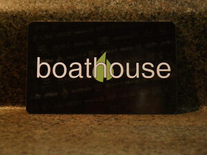 BOATHOUSE Gift Card $300.00 Value - Great Christmas Present! London Ontario image 1
