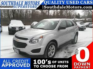 2016 CHEVROLET EQUINOX LS * AWD * REAR CAM * BLUETOOTH * PREMIUM