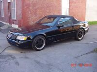 MERCEDES SL500 MERCEDES WITH 2 TOPS--GREAT CONDITION