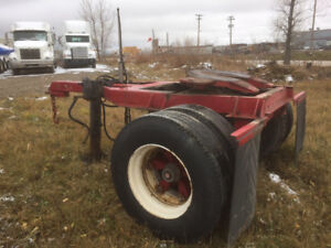5th wheel converter dolly (pull any trailer with a pintle hitch)