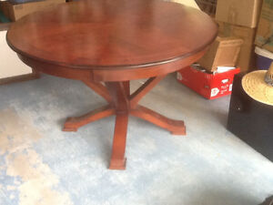 Solid wood high quality table  dining room or office