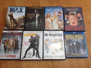 DvD et Blu-ray a 5$ chacun ou échange