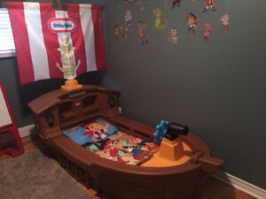 Little Tikes Pirate Toddler Bed St. John's Newfoundland image 1
