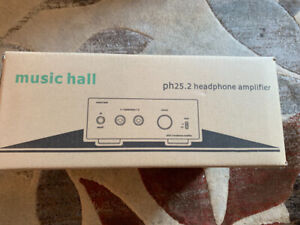Music Hall PH 25.2 headphone amp for sale. In box. Never used.