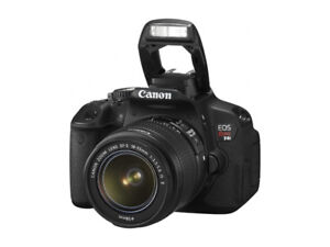 Canon EOS Rebel T4i DSLR with Lenses, UV Filters and Accessories