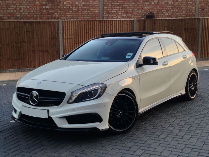 Mercedes benz a class 2 0 a45 amg 7g tronic 4 matic 5dr for Mercedes benz panoramic roof