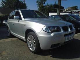 2006 06 BMW X3 2.0 D M SPORT 5D 148 BHP DIESEL
