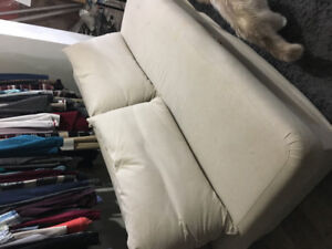 Pull out couch with storage- Ikea