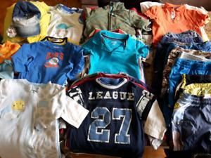 FAITES VOTRE PROPRE LOT 18 À 24 mois vêtements garçon