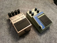 Boss Dynamic Wah AW-3 / Ibanez Vintage DCL Stereo Chorus