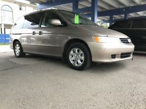2004 Honda Odyssey EX-L Leather and DVD