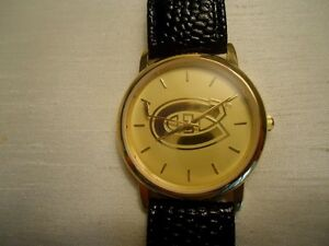 RARE NHL CANADIENS MEN'S WATCH - OFFICIAL NHL LICENSED PRODUCT