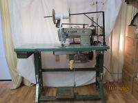 Brother commercial zipper sewing machine
