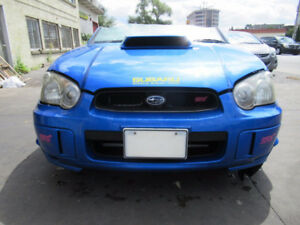 2004-2005 JDM STI FRONT END CONVERSION, HOOD, HOOD SCOOP, DASH