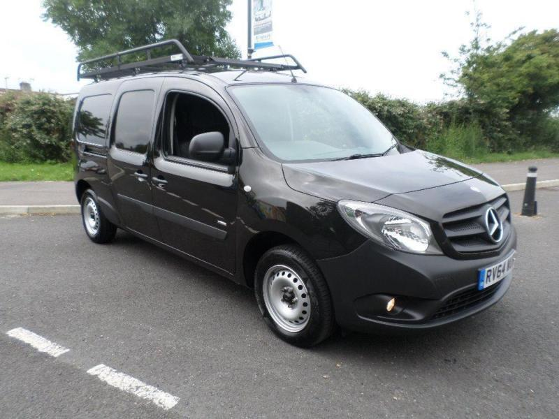mercedes citan 109 cdi blueefficiency extra long wheel base lwb black manual in southsea. Black Bedroom Furniture Sets. Home Design Ideas