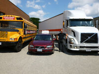 Class A, B,C, D, Truck training  & Z-Air brake