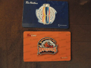 Collector Tim Horton's Gift Cards