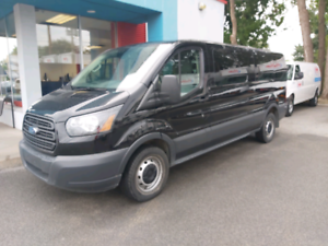 2016 Ford Transit 15 Passagers T-350 Toit Bas 59 635KM Cam Recul
