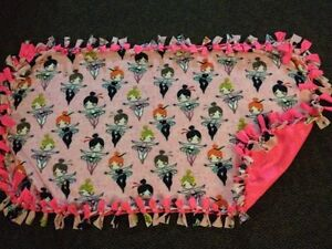 Ballerina handmade fleece blanket London Ontario image 1