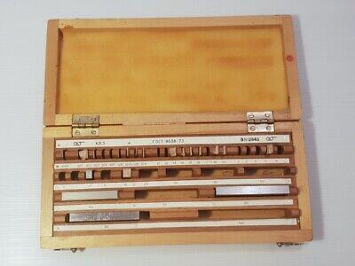 Made In Ussr Set Gage Blocks Spacers End Length Measures