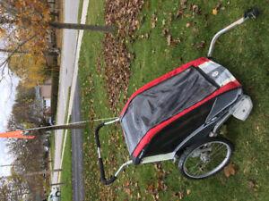 Chariot Cougar 2 bike trailer