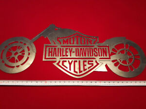 Harley Davidson Steel Sign