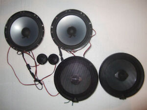 "4 JL Audio Evolution TR 6.5""  Speakers"