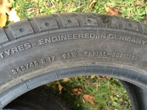 high end tires for sale -good tread left West Island Greater Montréal image 6