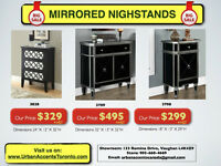 MIRRORED FURNITURE ON SALE BRAND NEW LOWEST PRICES IN TORONTO