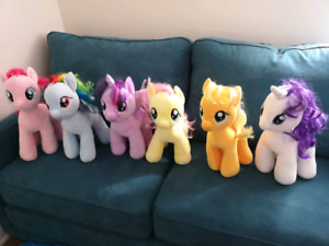 ON HOLD - Mane Six Build-a-Bear MLP $10ea
