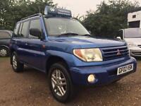 2002 Mitsubishi Shogun Pinin Full Service History 2 Keys Petrol