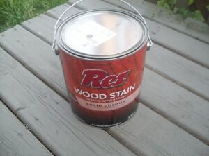 Rez Wood Stain for Fence or Deck