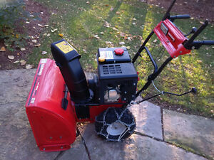Yard Machine Snowblower Practically Brand New Model 31AH64FF500 Peterborough Peterborough Area image 5