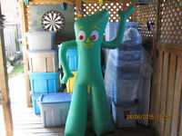 six foot inflatable gumby