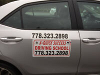 DRIVING SCHOOL-LOW COST DRIVING LESSONS--CAR FOR ICBC ROAD TEST