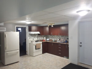 Spacious 2 Bedroom Basement