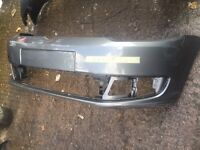 2014 VW caddy genuine front bumper headlight and front panel can post