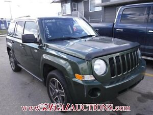 2008 JEEP PATRIOT  4D UTILITY 2WD