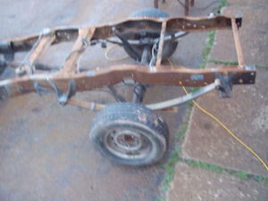 southern 1992 f150 Rolling chassis  (short wheel base)