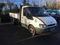 FORD TRANSIT 3-WAY TIPPER 2005 DRIVES WELL PT-EX TO CLEAR £3495 NO VAT