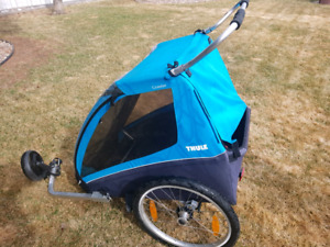 Thule 2 seater with women's bike