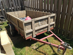 4 by 8 utility trailer