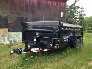 14' Dump trailer