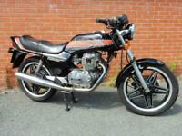 Honda CB250N Super Dream Deluxe 1982